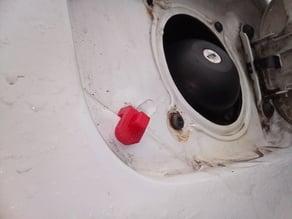 Dacia Sandero fuel tank hatch bumper