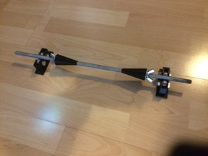 Motorcycle wheel ballancing tool