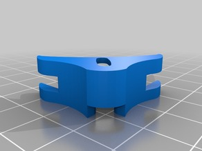 REPLICATOR1 Glass bed flush fit corner clips for CTC DUAL / MAKERBOT FLASHFORGE CLONES