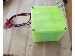 Li-Ion 18650 3p 3s battery box 60x63x67 mm