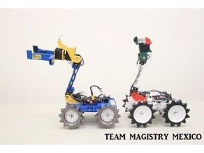 TEAM MAGISRTY MEXICO OARKIT RESCUE ROBOT