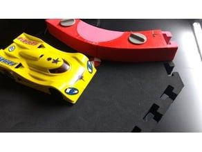 RCP Mini-Z Track 30cm great inner curve cover; Bande für die grosse Innenkurve der 30cm RCP Rennstrecke