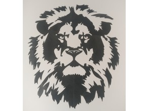 Lion 2D Wall Art
