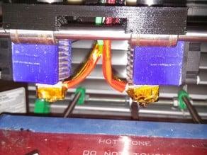 E3D Dual Extruder Bowden mount
