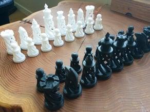 Spiral Chess Set