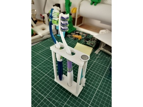 Support brosse à dents / Toothbrush stand