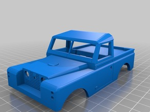 Orlandoo 1:32 Land Rover Defender Series shell for Jeep Wrangler