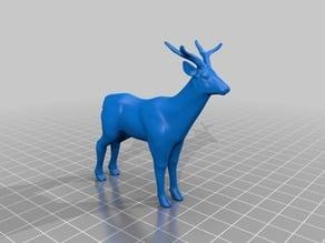 鹿(Deer)3Dデータ