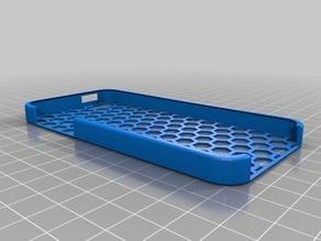Honey Comb iPhone 5 Case w/ better edges