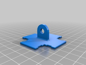 Modular Popsicle Stick Picavet Mount Concept