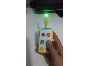 Pocoyo remote control led