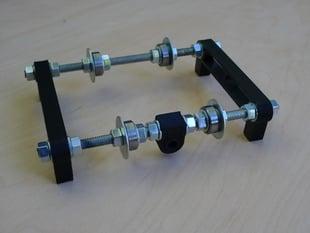 RepRap Adjustable Filament Spool Roller
