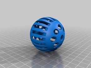 Crazy Ball Keychain