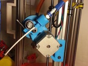 My version of YRUDS bowden extruder for RichRap's 3DR delta