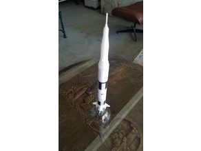 "BT-50 ""Tribute"" scale version of the Saturn V"