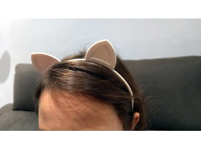 Cat Ears Diadem