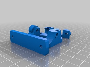 Compact bowden extruder using 1/8 push-fit