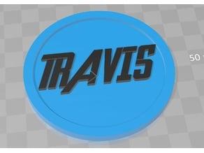 Travis - Avengers Font
