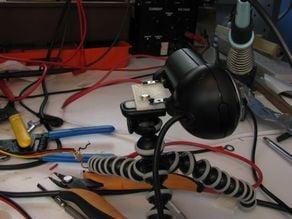 Logitec Webcam 9000 Tripod Adapter.