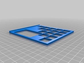 Azul Game Tile Holder