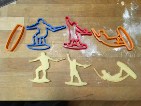 wakeboard cookie cutter