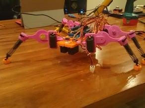 4 legged walking robot
