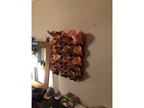 solo cup wall organizer
