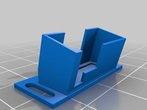 TX03 mount with slot for zip tie