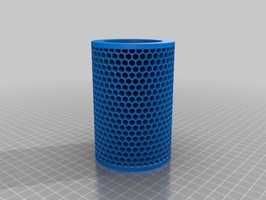 My Customized Honeycomb Tea Lamp Shade