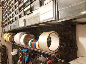 Lidl pegboard tapeholder