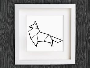 Customizable Origami Fox