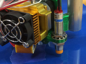 MPCNC MK8 extruder induction probe mount