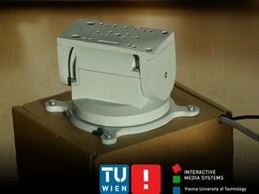 360° pan 180° tilt head for webcam and small DSLR