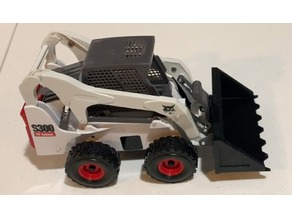 Bucket Attachment for ERTL S300 Bobcat Toy