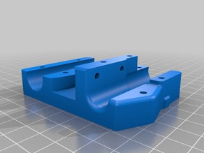 ANET 8mm X Carriage Mount with 46mm Spacing