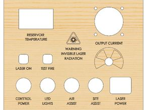 K40 Control Panel