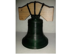 Bell with timber headstock