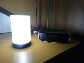 Modern cylindrical LED lamp