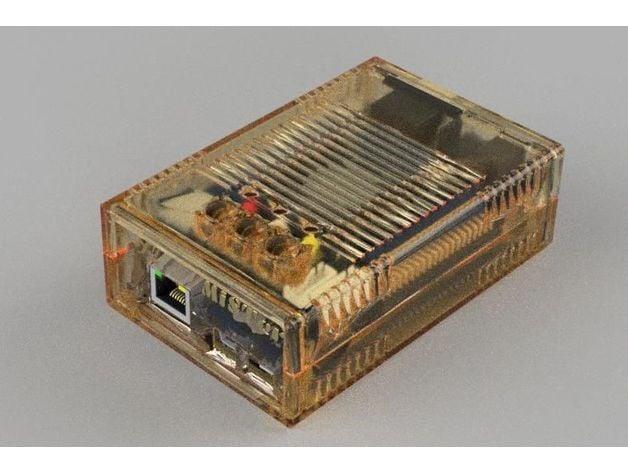 MiSTer XS Case V1 - v5 2 XS for SDRAM XS - extra slim - v1 1 by