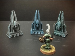Delving Decor: Dark Reliquary (28mm/Heroic scale)