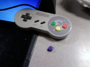 Super NES (SNES) Button
