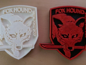 Metal Gear Solid - Foxhound crest