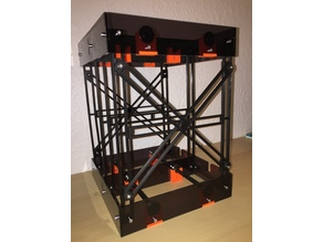 Brackets for Double decker spool holder, Original Prusa i3 MK2 Multi Material
