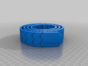 My Customized Belt (print in place, , MMU design)