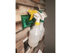 Acetone / Alcohol Squirty Bottle Wall Mount
