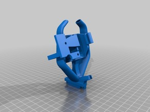 CR-10 Fang with BL Touch Mount for Microswiss Hot End (Remix)