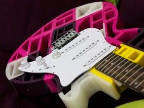 LeStratocaster Guitar