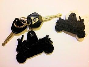 Keychain Yamaha TMAX