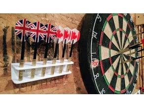 dart holder - wall mount