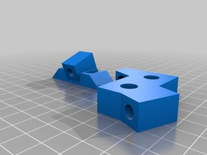 Stabilizer for Prusa i3 Z-axis - with mounting feet